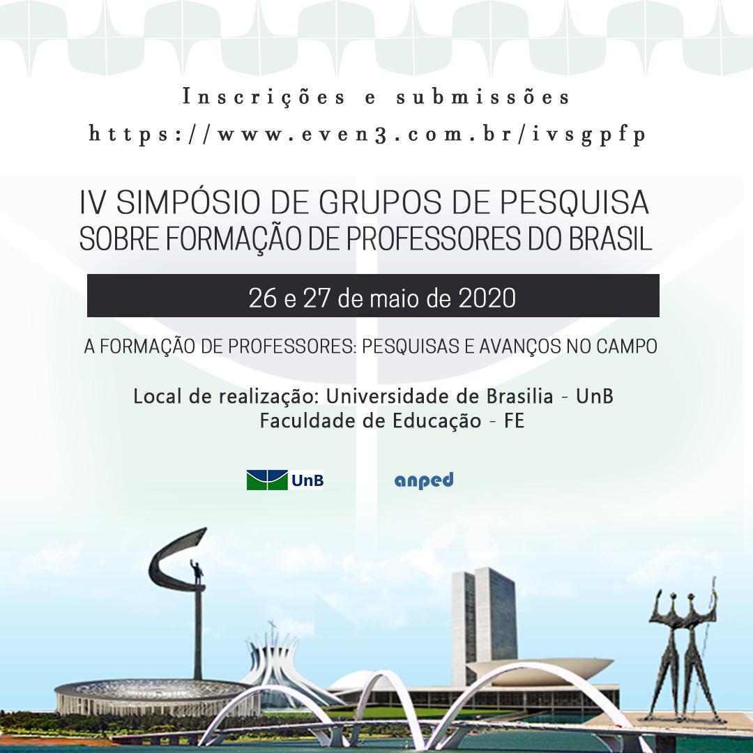 Resultado de imagem para IV Simpósio de Grupos de Pesquisa sobre Formação de Professores do Brasil